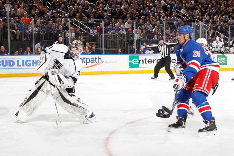 Game 48: Rangers vs. Kings Gameday Thread