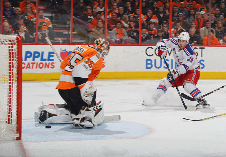 Game 49: Rangers vs. Flyers Gameday Thread