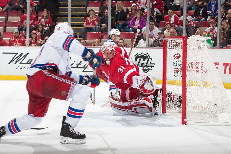 Lundqvist Gets Shutout In Detroit