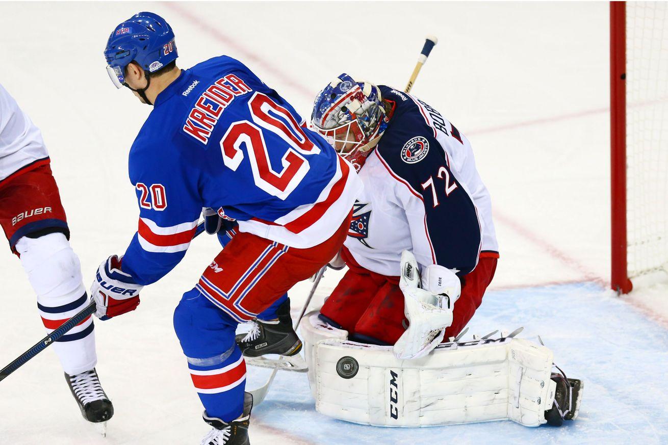 Game 42: Rangers @ Blue Jackets Gameday Thread