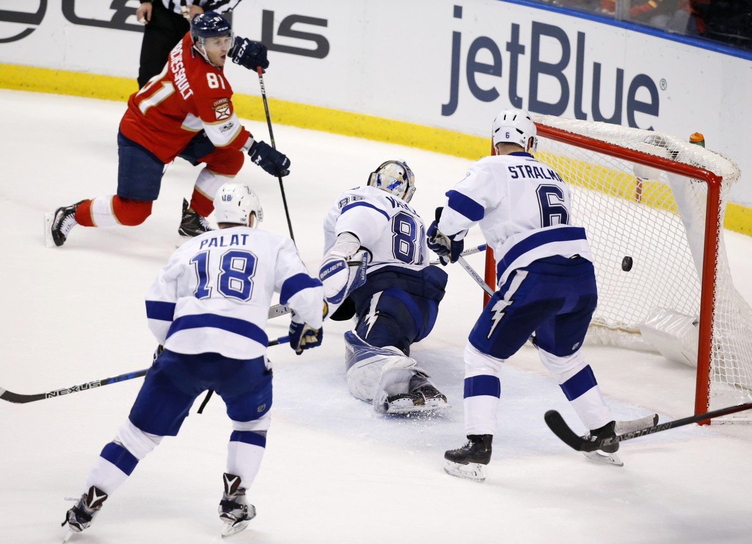 Game Recap: Cats Beat Bolts In OT To End Failed Road Trip