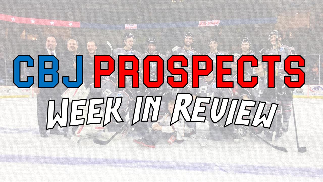Jan 22 - 29: CBJ Prospect Week in Review