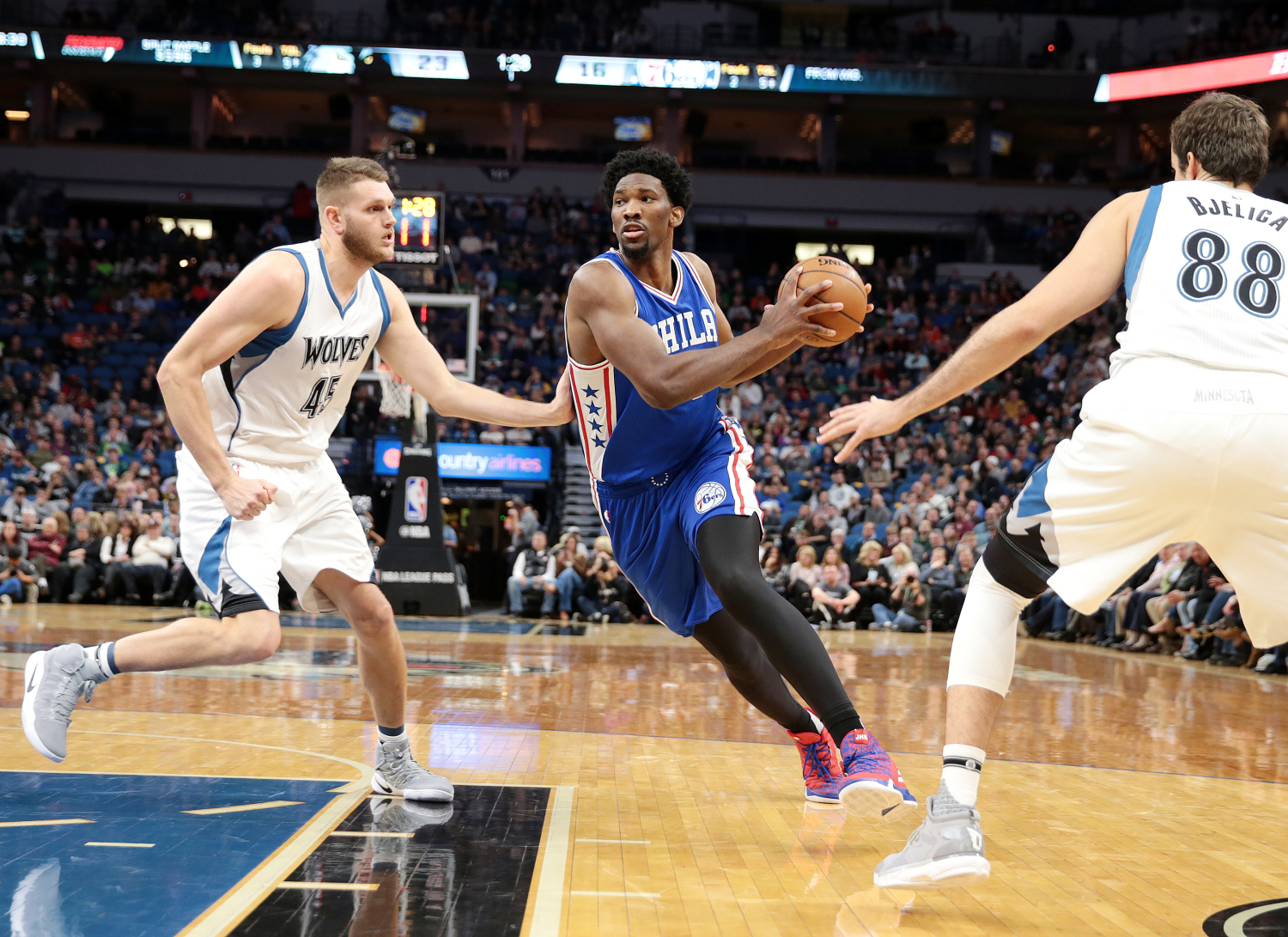 Game Preview: Wolves at 76ers