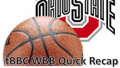 tBBC #11/13 Ohio State Women's Quick Recap: Buckeyes 94,Wildcats 87