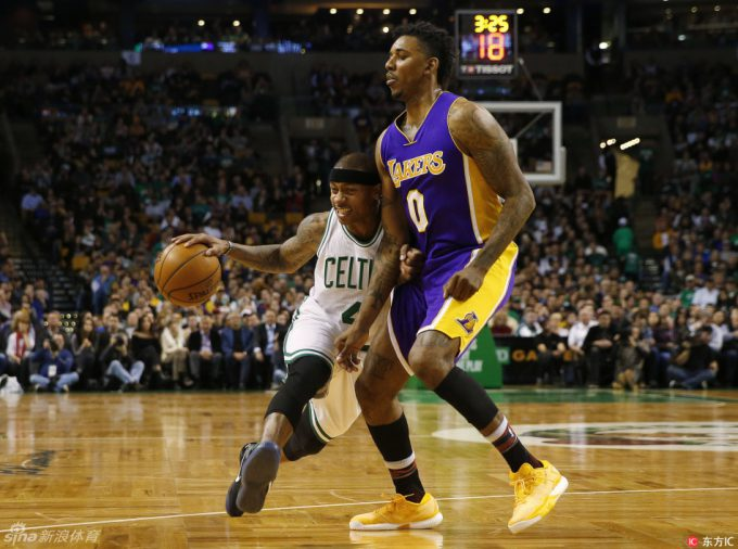 Videos of the Day: Celtics down Young & rest of LA clowns, Truth's home
