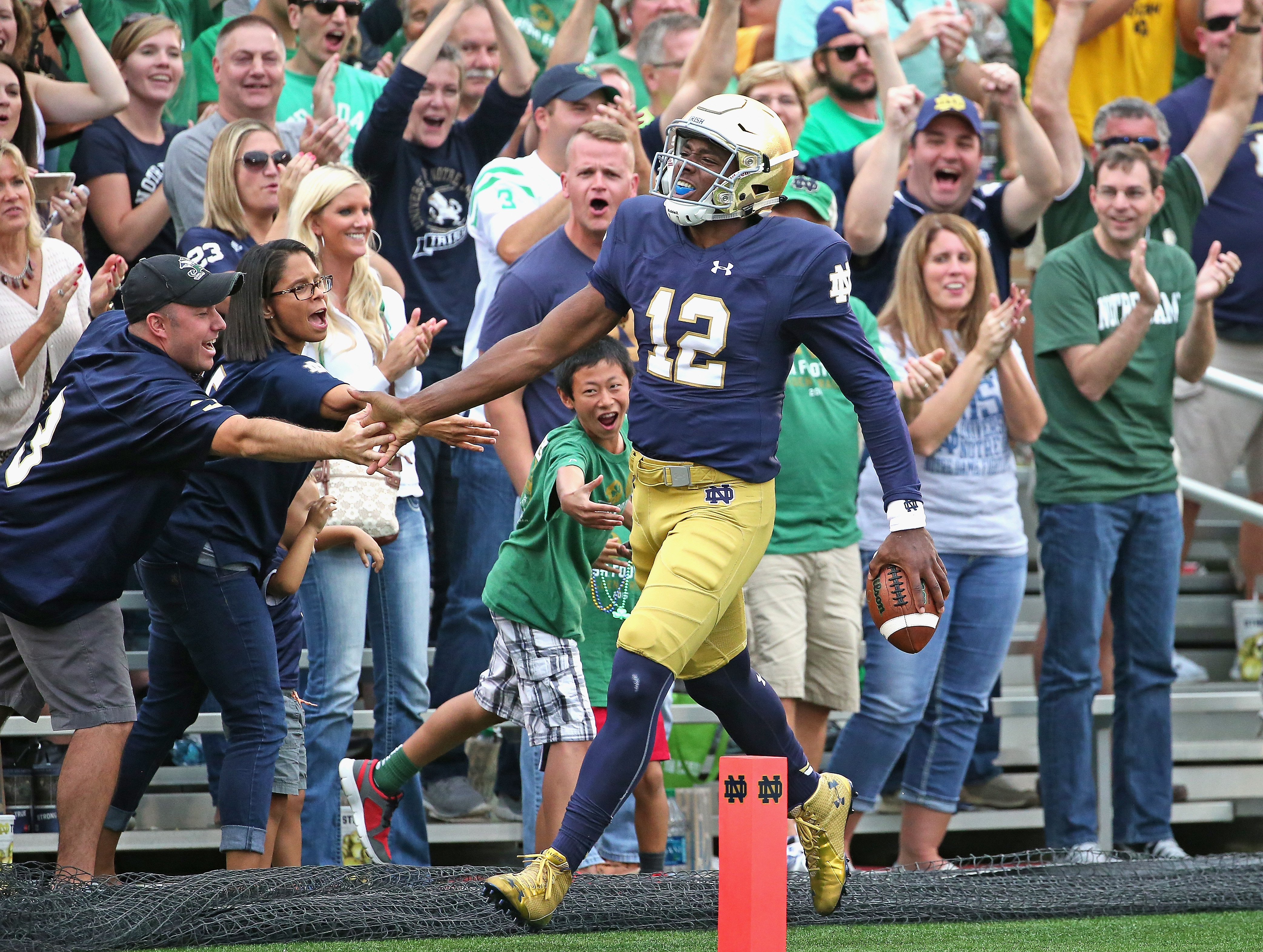 Behind Wimbush, Irish Poised for 2017 Bounceback