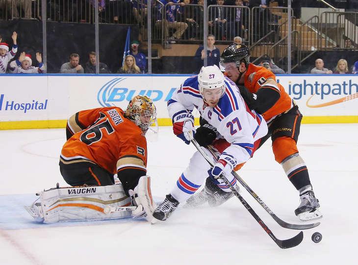 Game 53: Rangers vs. Ducks Gameday Thread