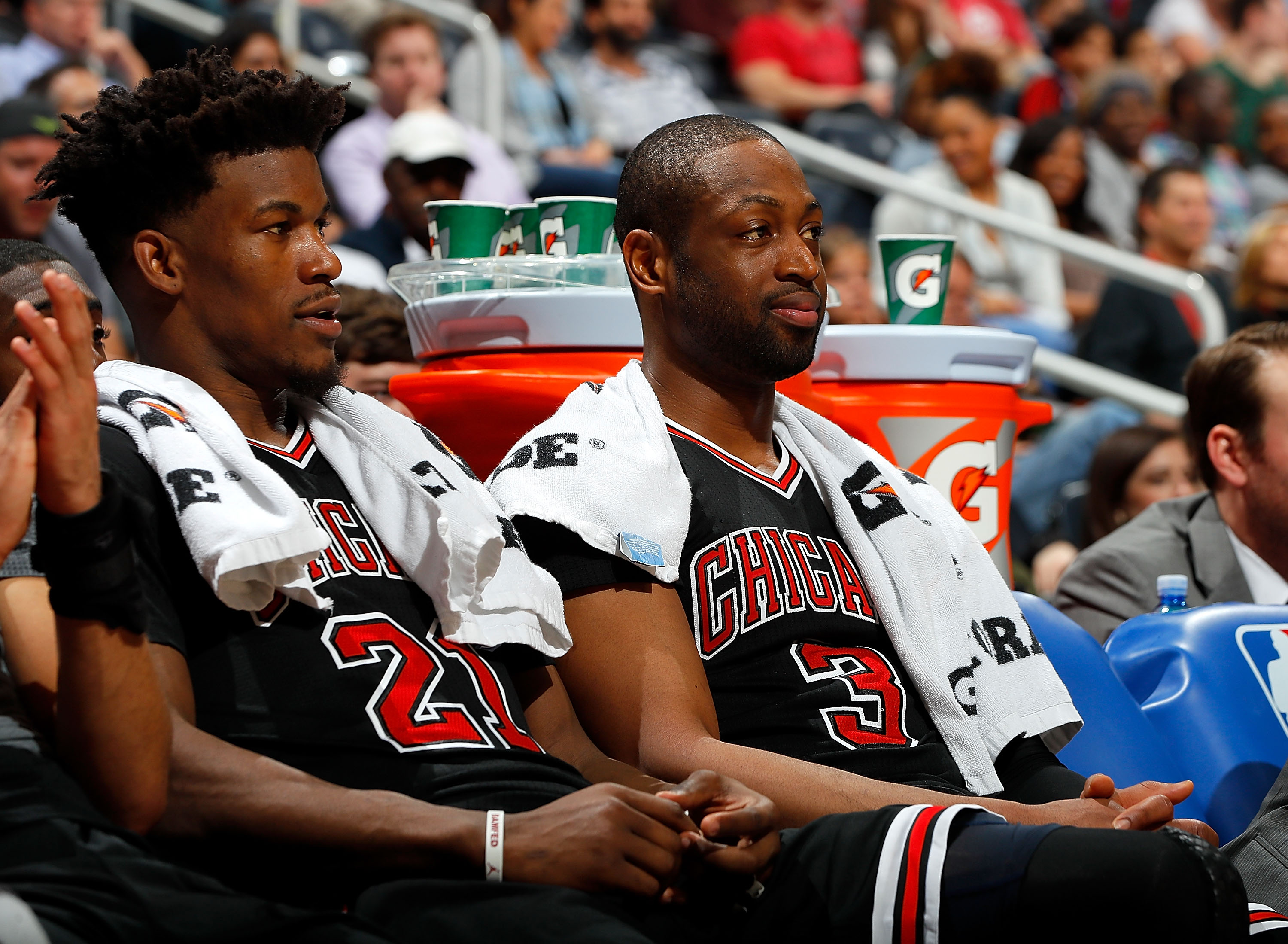Jimmy Butler says he is 'cool' with Dwyane Wade following Instagram exchange
