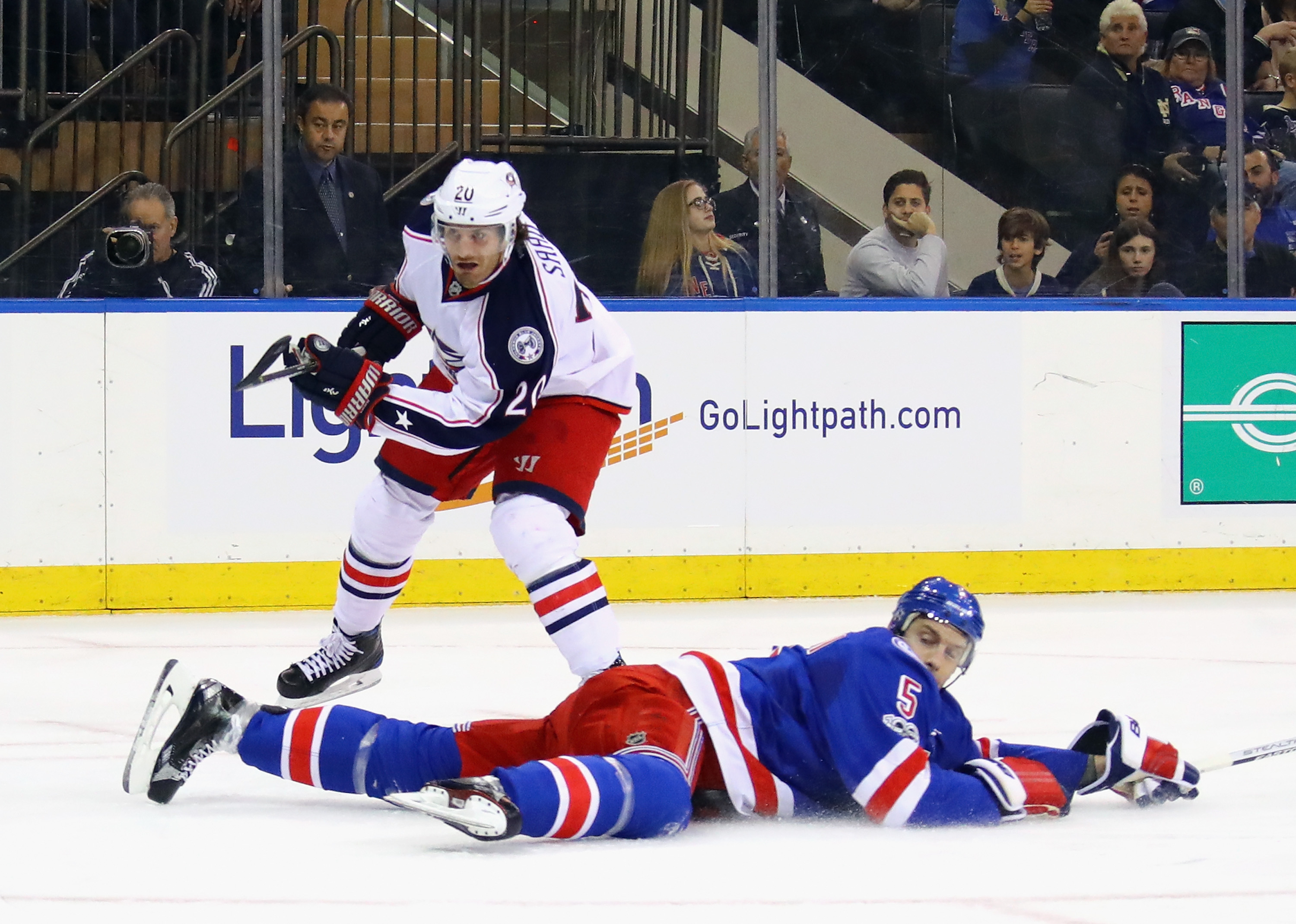 The Aftermath Game #60: Blue Jackets @ Rangers