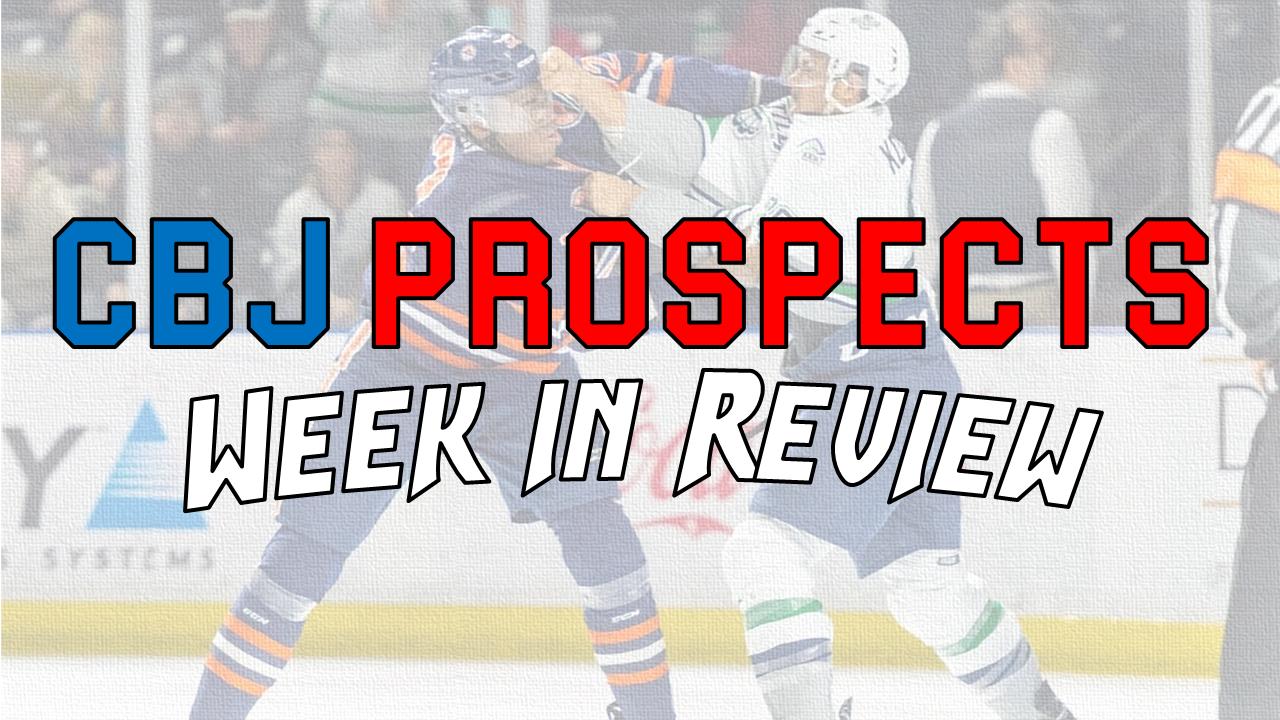 Jan 30 - Feb 5: CBJ Prospects Week in Review