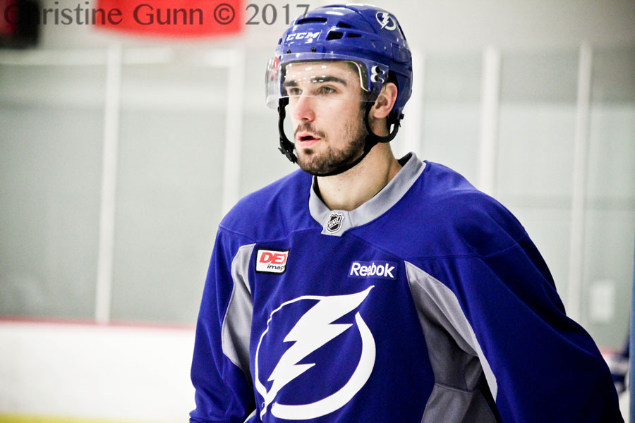 Tampa Bay Lightning Forward Cedric Paquette Speaks On The Jonathan Drouin Trade