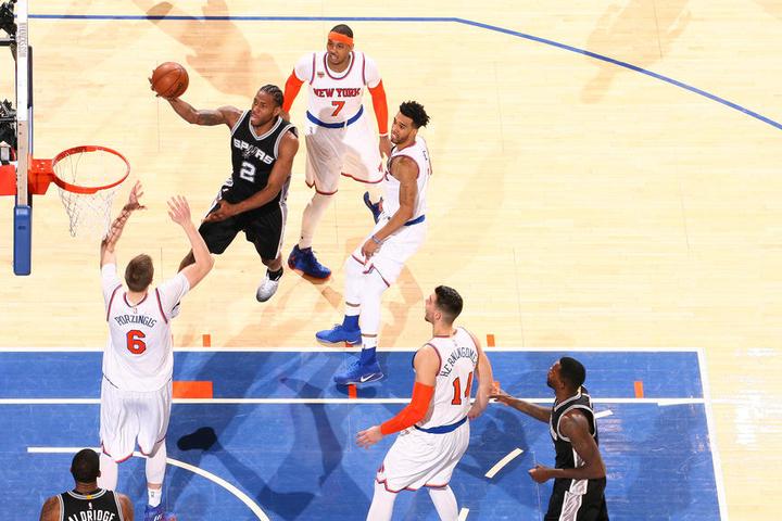 Poor shooting hurts Spurs in New York