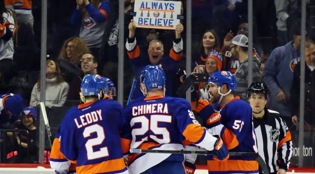 Islanders Offense Explodes in 5-1 Win over Colorado