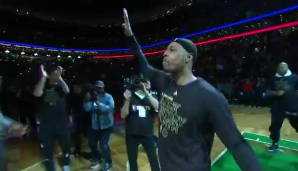 Recap: Celtics win but who cares WE LOVE PAUL PIERCE SO MUCH!!!