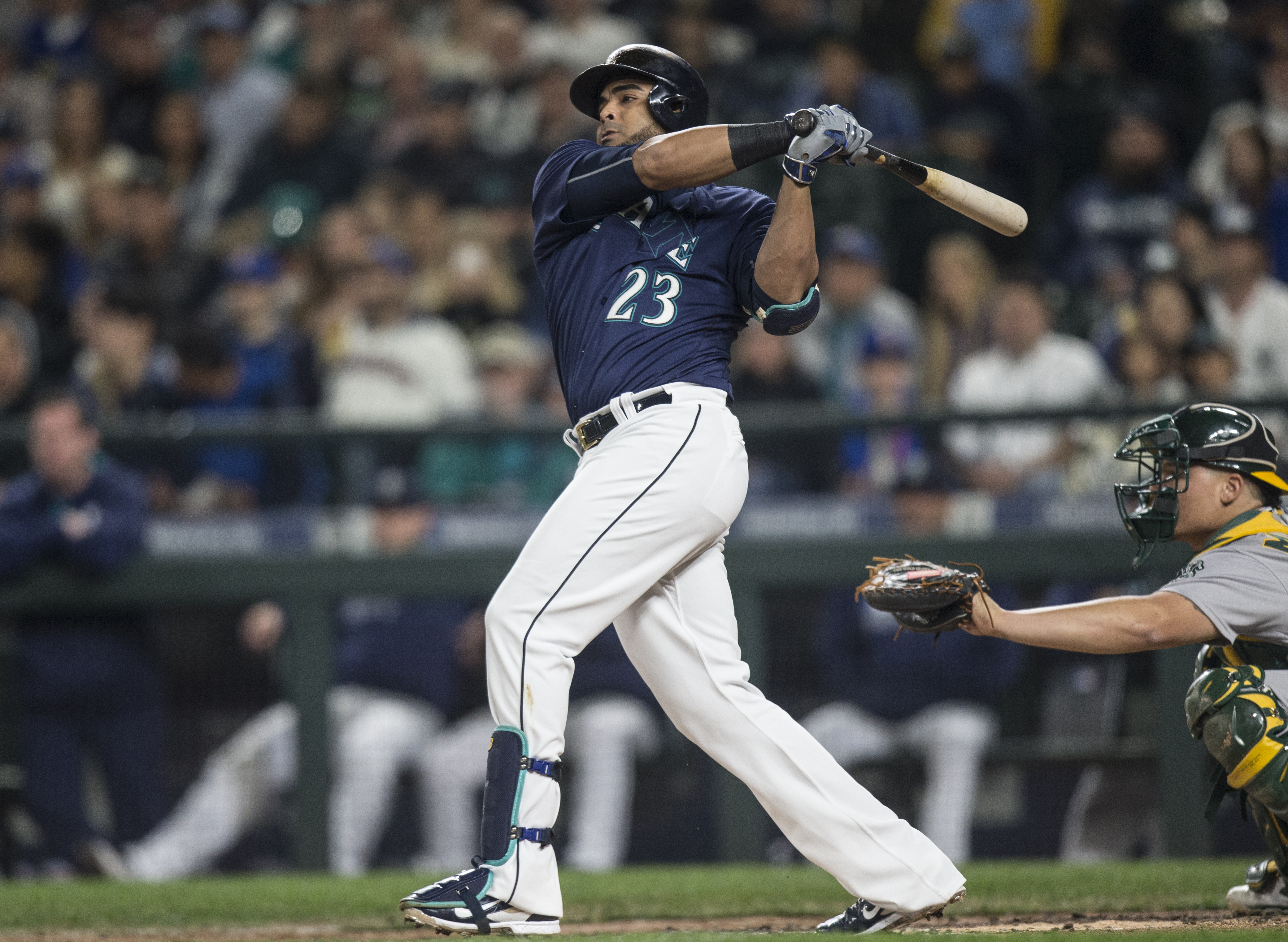 Is Nelson Cruz Showing Any Signs of Slowing Down?