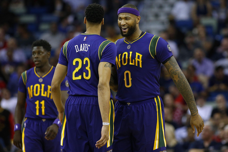 DeMarcus Cousins gets Pelicans in playoffs