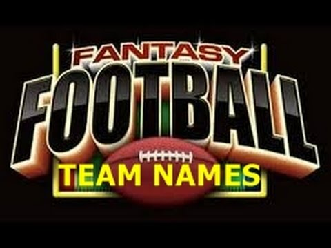 Totally Awesome Fantasy Football Team Names
