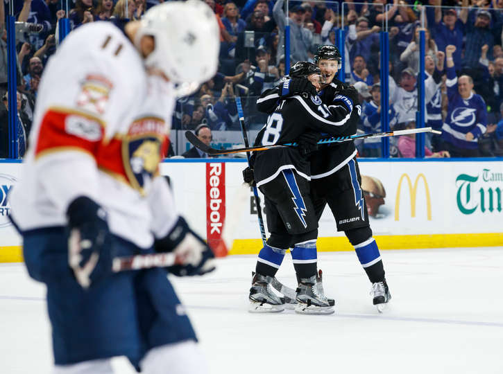 Game Recap: Palat's Late Goal Lifts Lightning To Come From Behind 3-2 Win Over Panthers