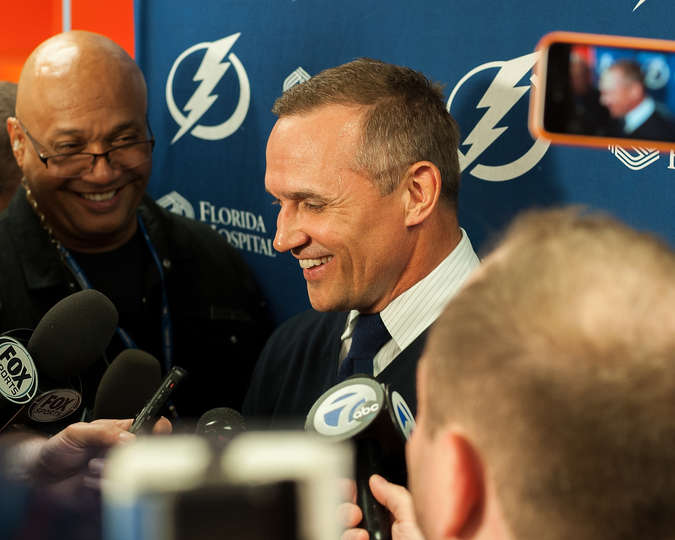 Tampa Bay Lightning Media Day Palooza