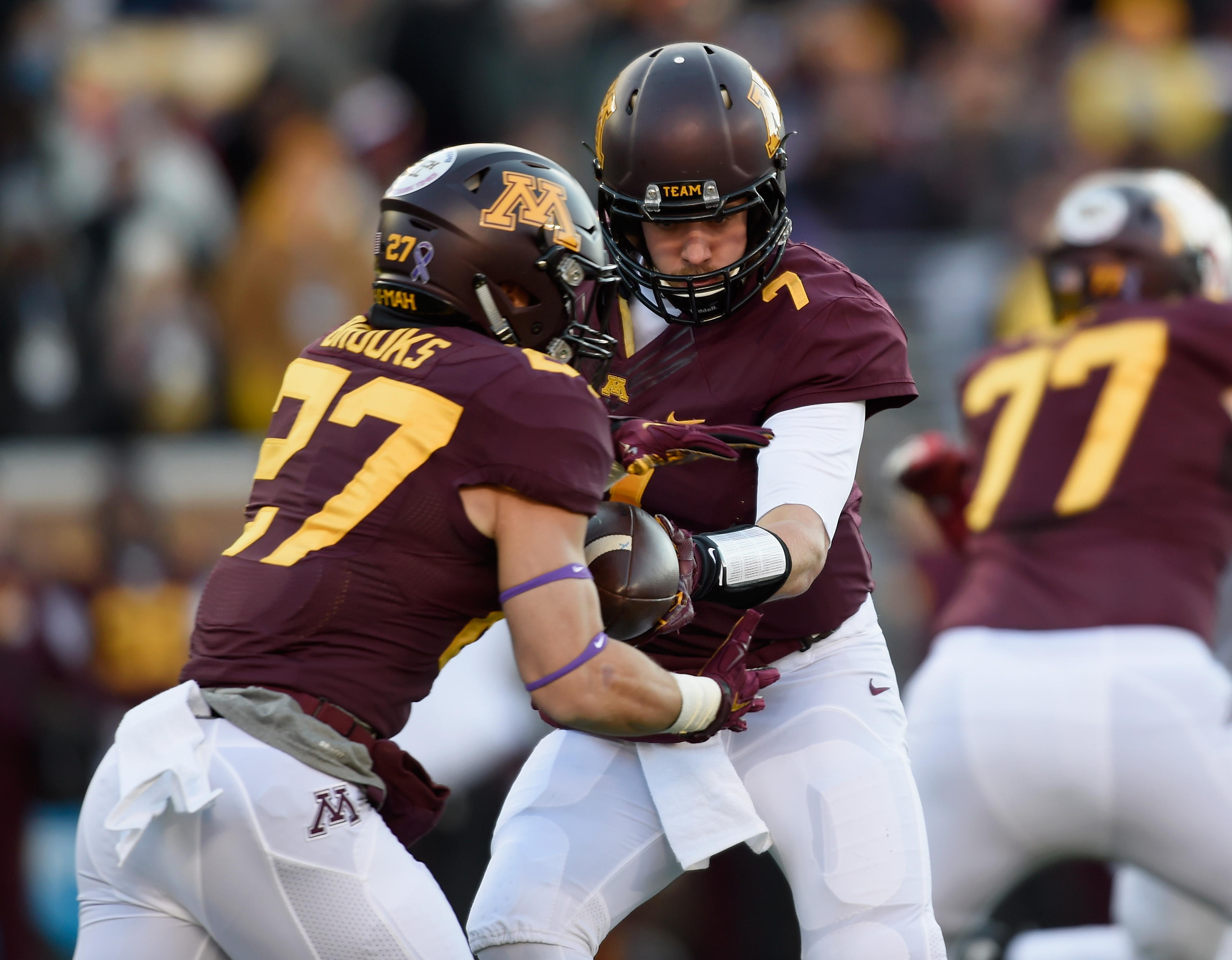 WATCH: Gophers Football Fan Attempts to Field Punt During Spring Practice