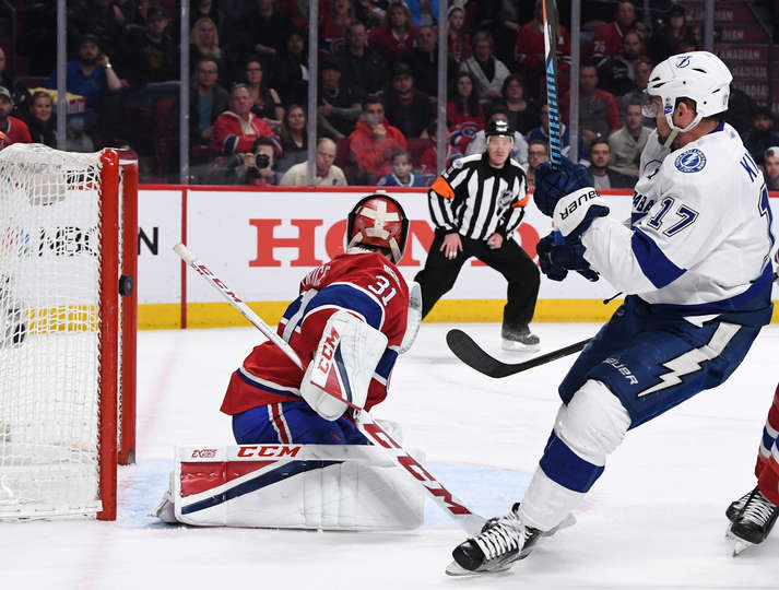 Game Recap: Stayin' Alive - Gourde And Vasilevskiy Lead Bolts Over Habs 4-2 (W/Video)