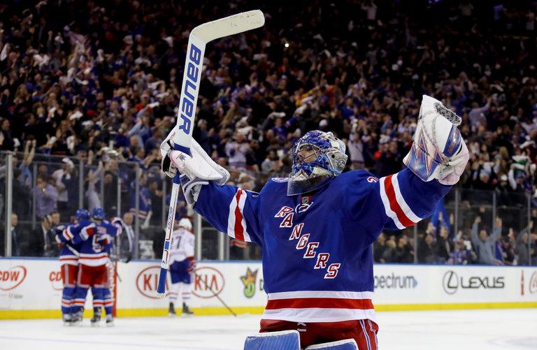 Rangers 3, Canadiens 1 (NYR Win 4-2)