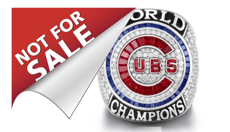 Cubs Make World Series Ring Recipients Sign Waiver To Prevent Resale