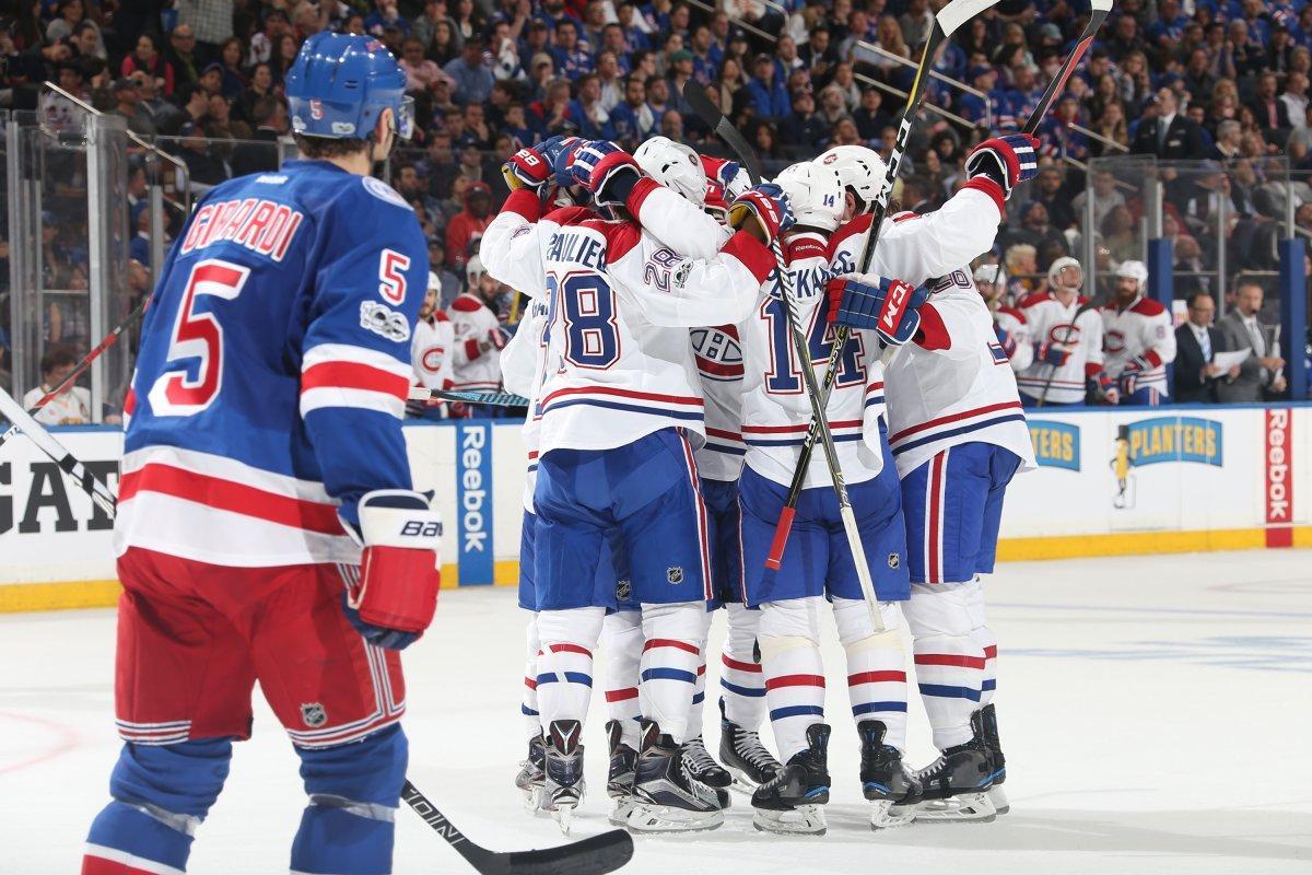 Canadiens 3, Rangers 1 (Habs 2-1)