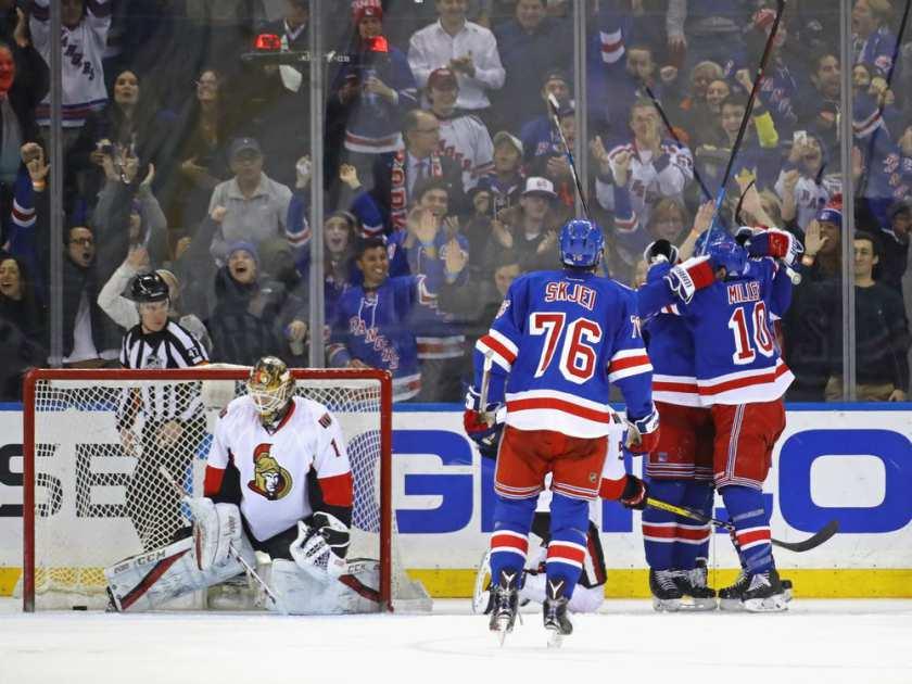 Rangers/Senators 2nd Round Preview