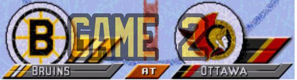 Semifinals Game 2. Bruins At Senators: Holy Easter Saturday Batman!