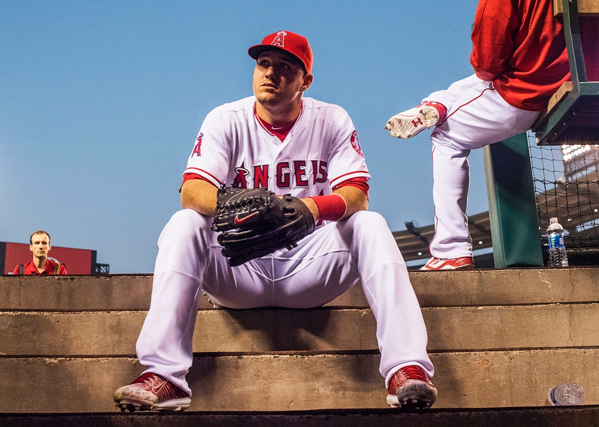 The perennially great yet different Mike Trout
