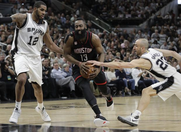 Spurs crushed by Rockets in Game 1 of West Semifinals