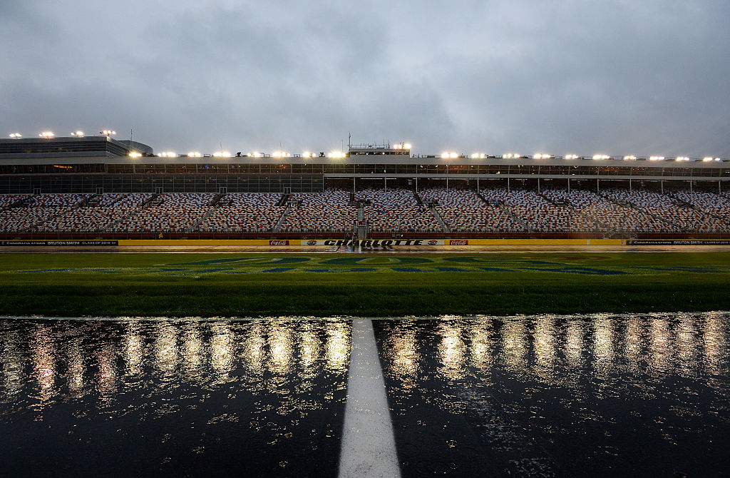 NASCAR Fan 'Falls Asleep', Gets Left At Charlotte Motor Speedway