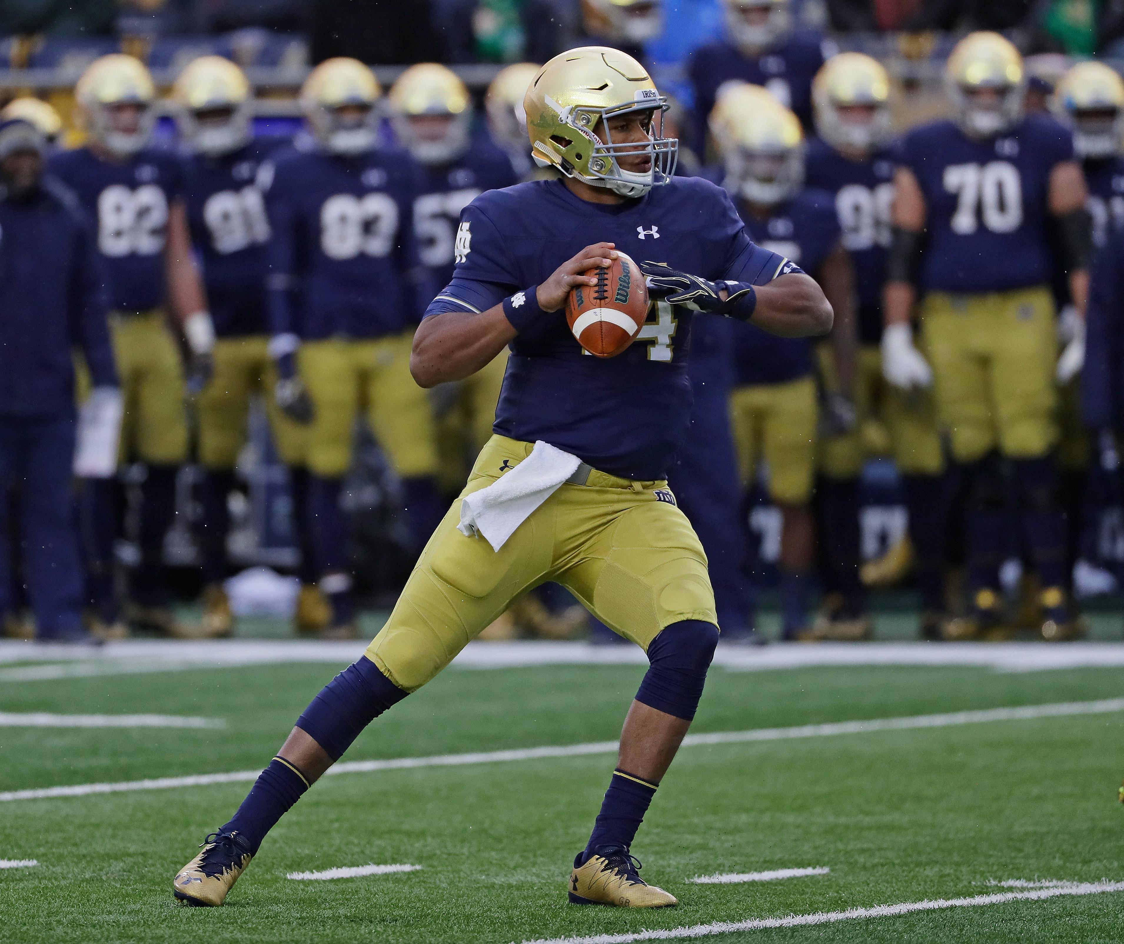 Kizer's draft slip sheds light on Notre Dame's difficult 2016