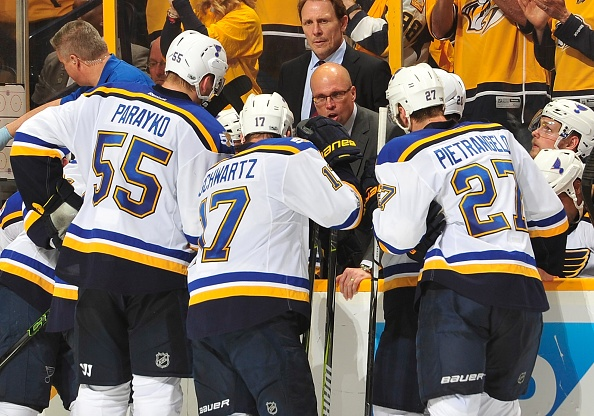 """Jake Allen on Mike Yeo: """"I think we all love playing for him"""""""