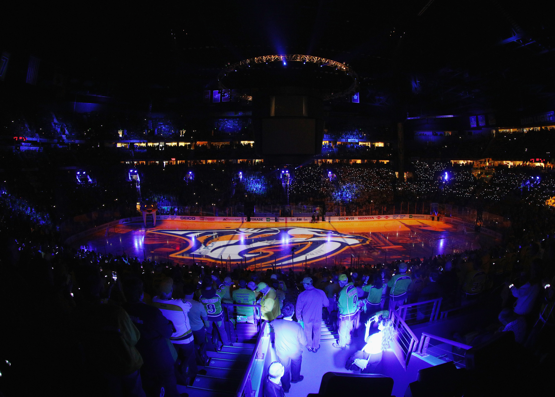 Nashville Predators continue to dominate in playoffs on home ice