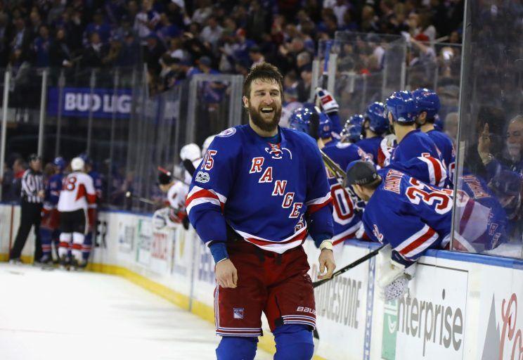 Rangers 4, Senators 1 (Tied 2-2)