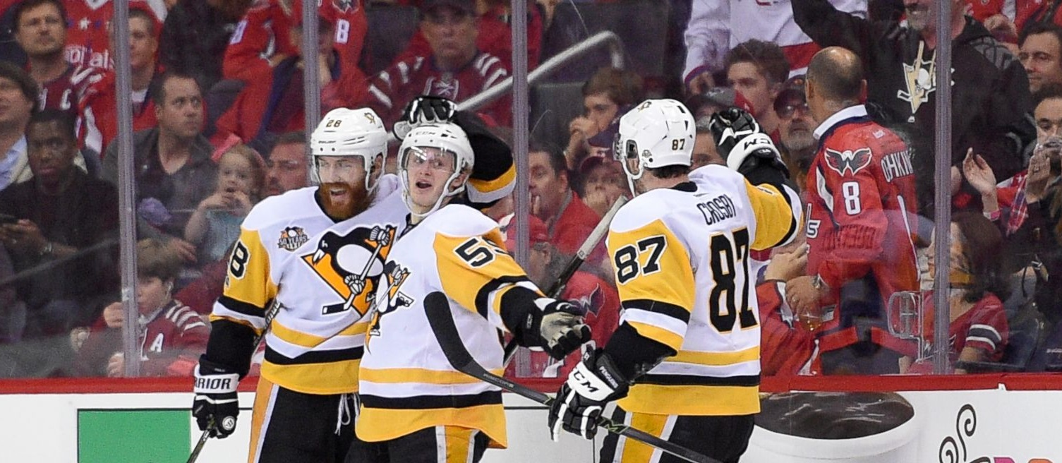 """How are the Penguins leading """"dominant"""" Caps 2-0?"""