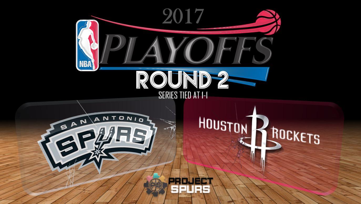 Game 2 Vidcast: Spurs 121, Rockets 96