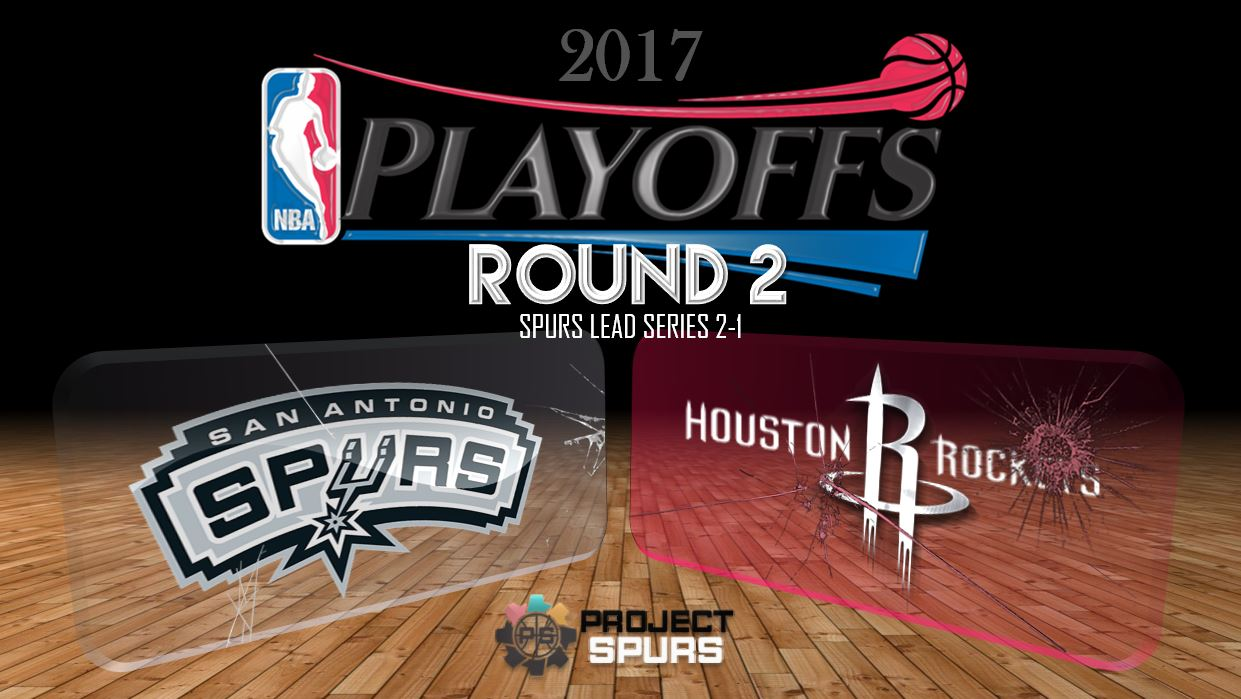 Game 3 Vidcast: Spurs 103, Rockets 92