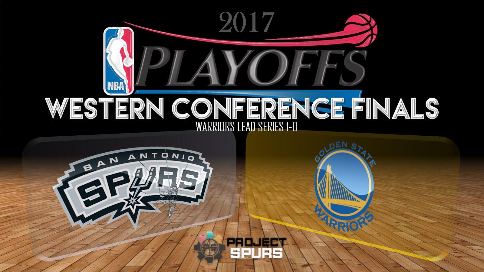 Game 1 Vidcast: Warriors 113, Spurs 111