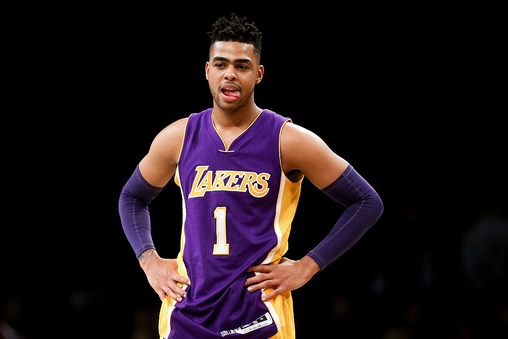 D'angelo Russell traded