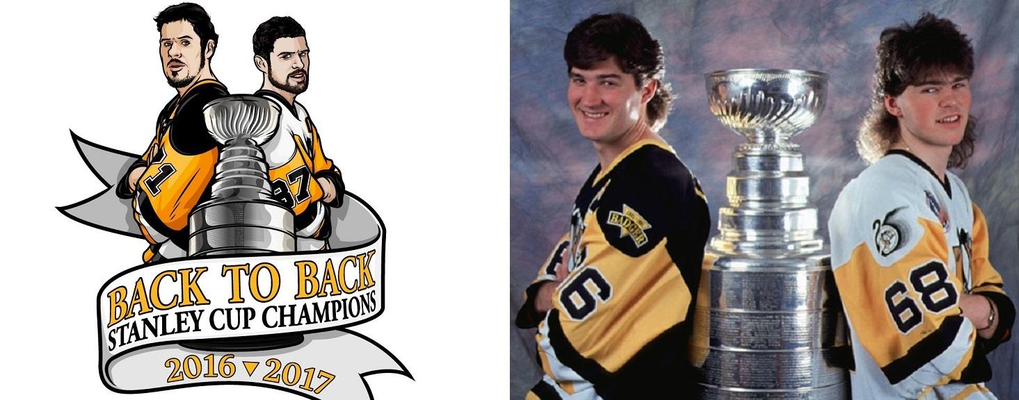 Back to Back: Comparing 1992 & 2017 Penguins