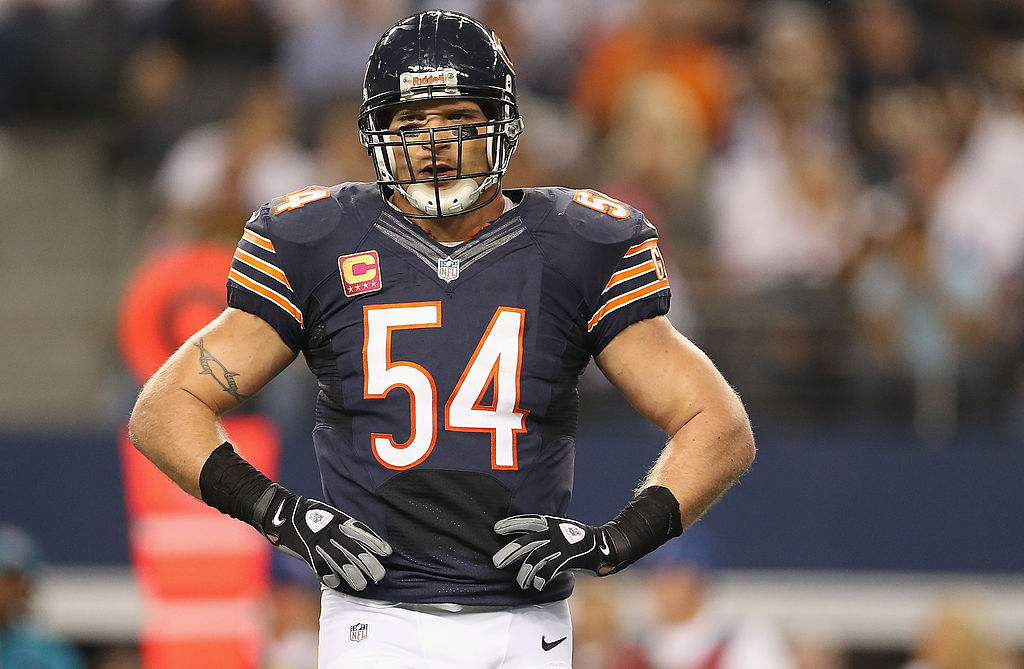 Brian Urlacher whacks Bears, says they're cursed