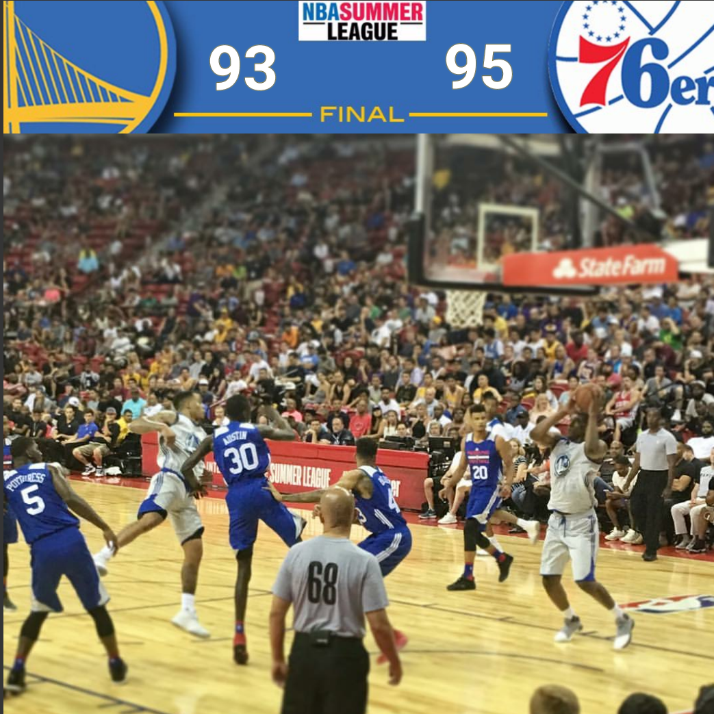 FINAL RECAP WITH HIGHLIGHTS: McCaw (25 Points) Misses Buzzer-Beater, Warriors Fall To Philadelphia 76ers, 95-93