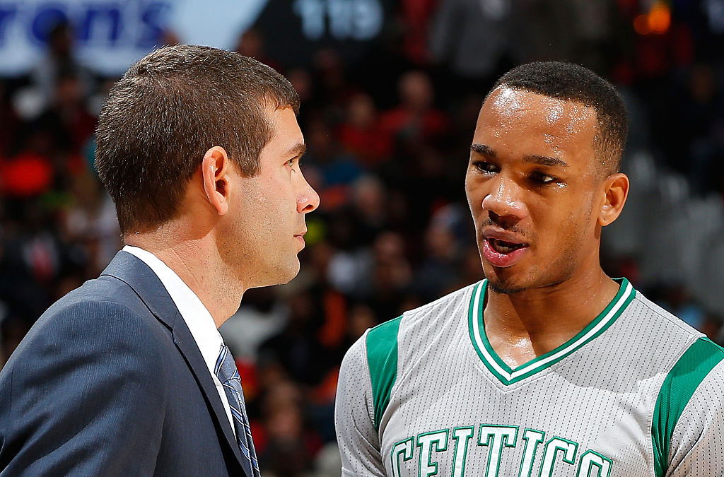 Avery Bradley just wanted to be yelled at