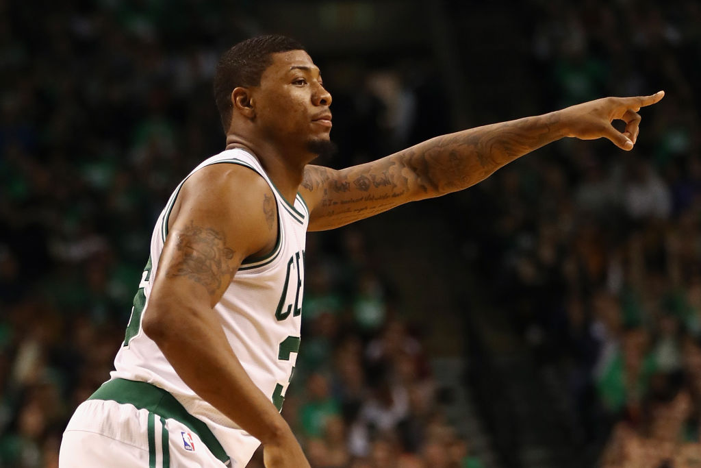 Marcus Smart subject of trade talks between Celtics and Knicks