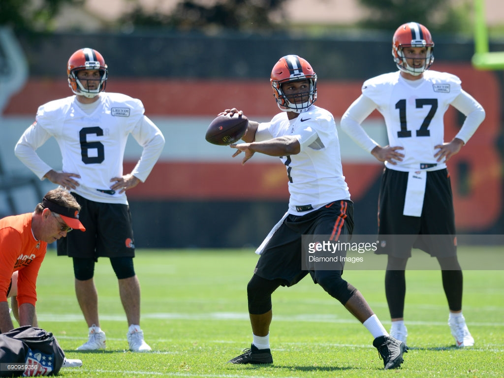 2017 Browns Camp Preview - QB's