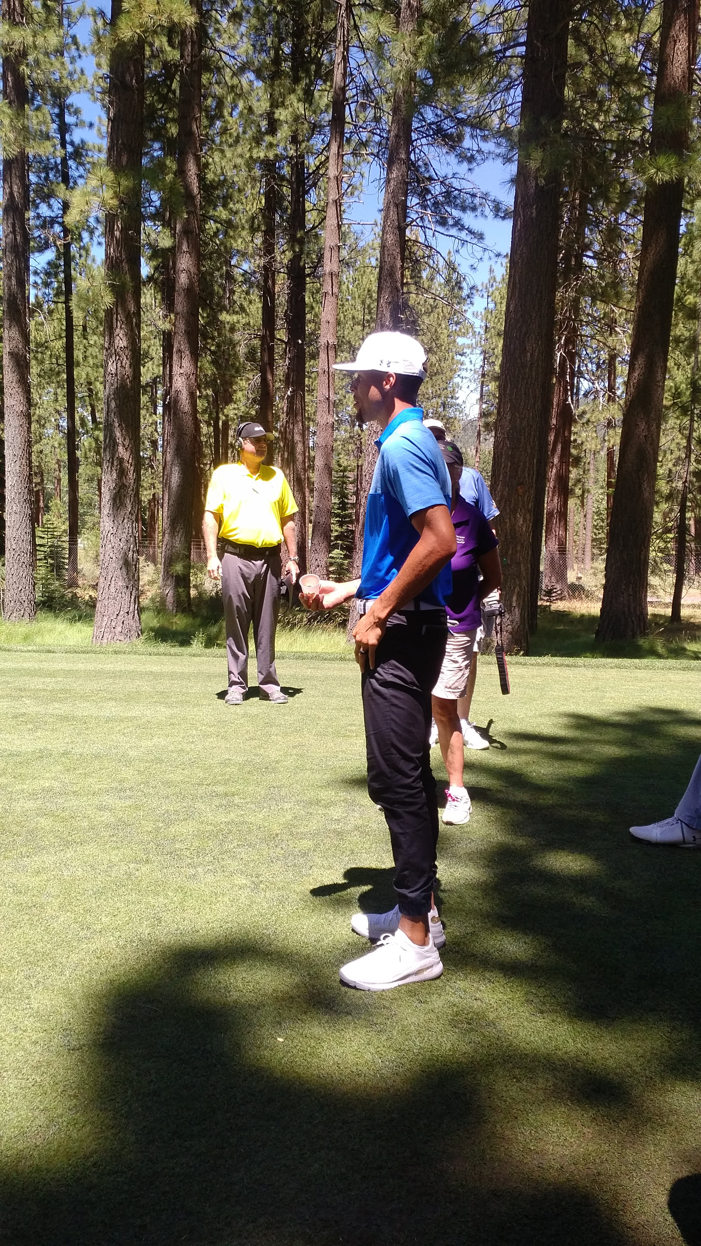 PHOTO GALLERY: Stephen Curry at the American Century Championship Golf Tournament in Lake Tahoe