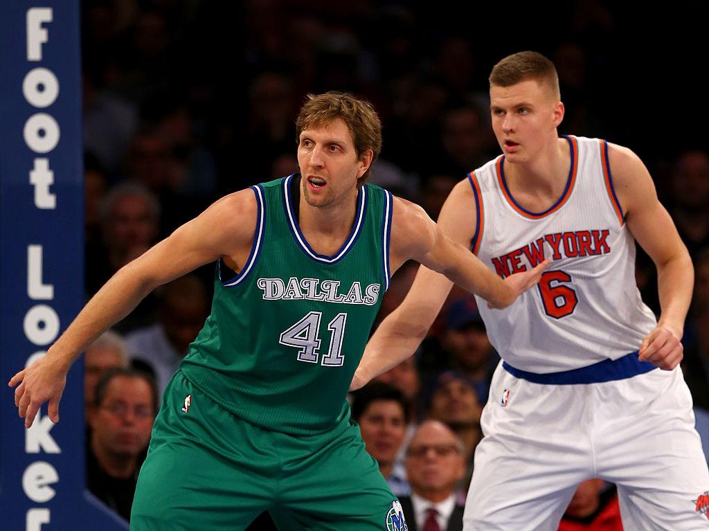 "Kristaps Porzingis on Knicks' future: ""I hope to stay there my whole career."""